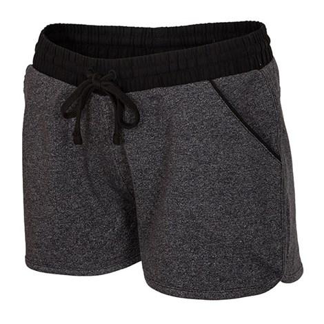 4F Dámské sportovní šortky Melange tmavěšedá S