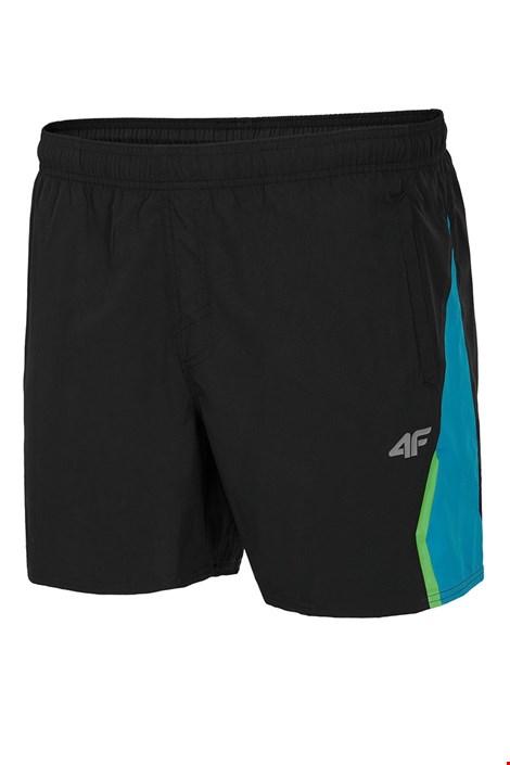 4F Pánské sportovní šortky 4f Black černá XL