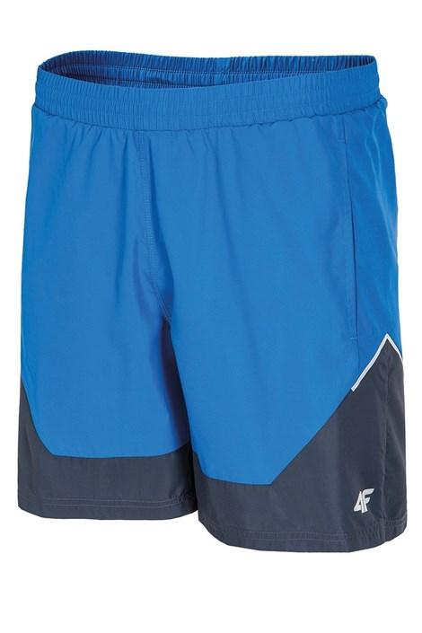 4F Pánské sportovní šortky 4f delší tmavěmodrá XL
