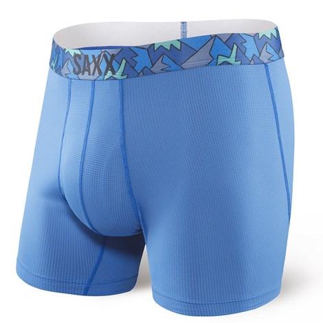 Saxx Pánské boxerky SAXX Quest 2.0 Pure Blue tyrkysová S