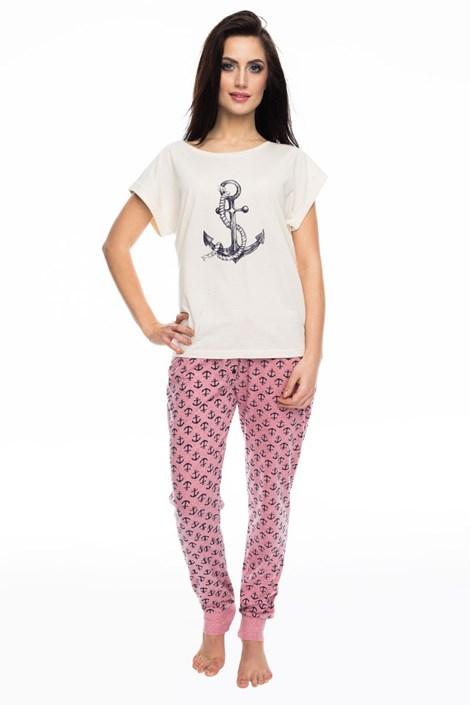 Rössli Dámské pyžamo Marina béžová XL