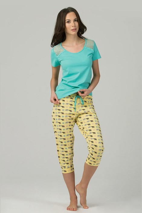 Rössli Dámské pyžamo Maisha barevná XL