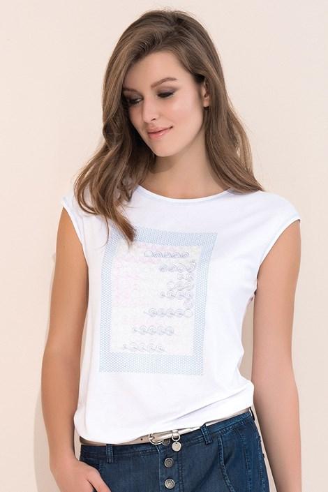 Dámské elegantní triko Scarlet White
