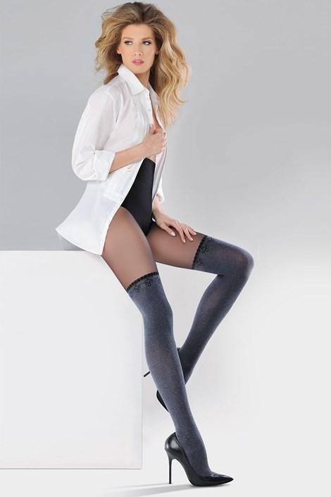 Gabriella Punčochové kalhoty Scarlet melange 2