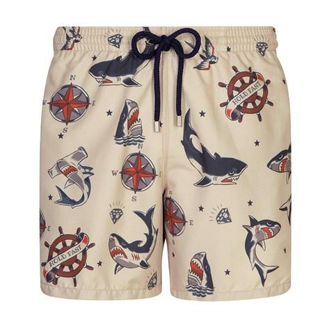 GRANADILLA Pánské koupací šortky GRANADILLA Sharks vícebarevná M
