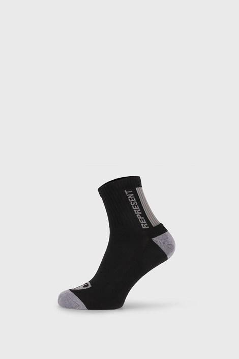 Černé ponožky Represent Simply Logo