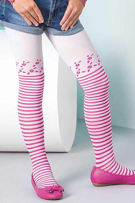Gabriella Dívčí punčochové kalhoty Sisi růžová 128-134