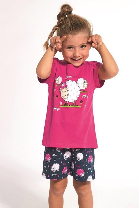 Cornette Dívčí pyžamo Sleep růžová 86/92