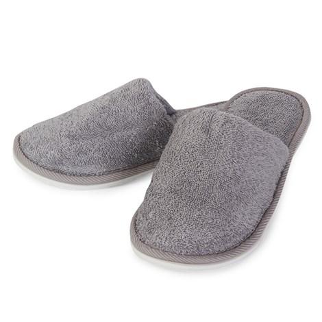 Bahar Domácí pantofle Charles šedé seda 26