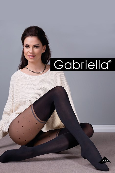 Gabriella Punčochové kalhoty Sofia černá 4