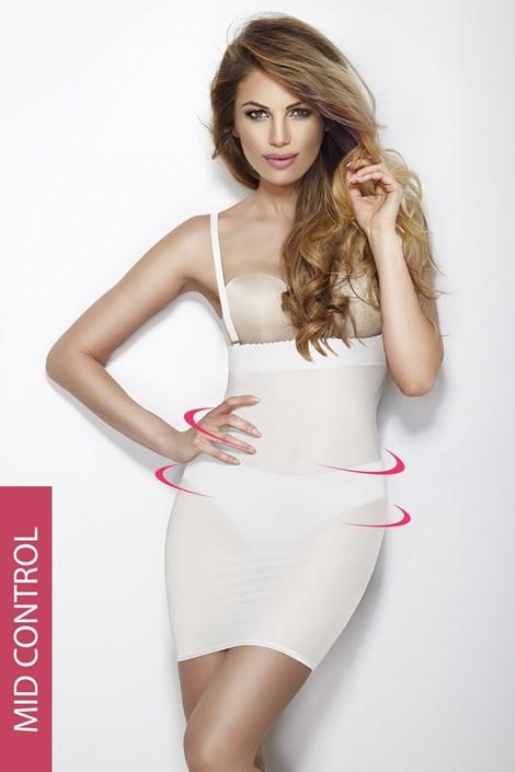 Mitex Stahovací šaty Softly Dress bílá L