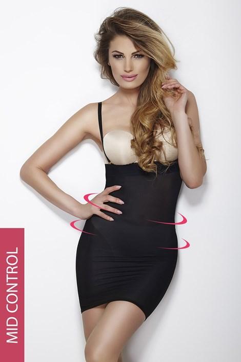 Mitex Stahovací šaty Softly Dress černá XXL