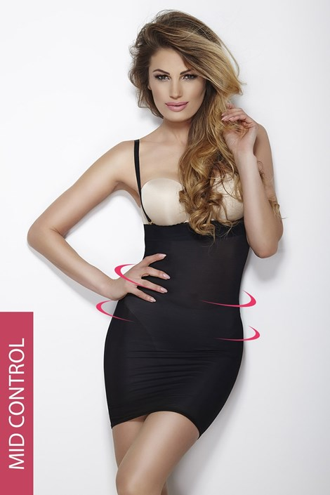 Mitex Stahovací šaty Softly Dress černá L