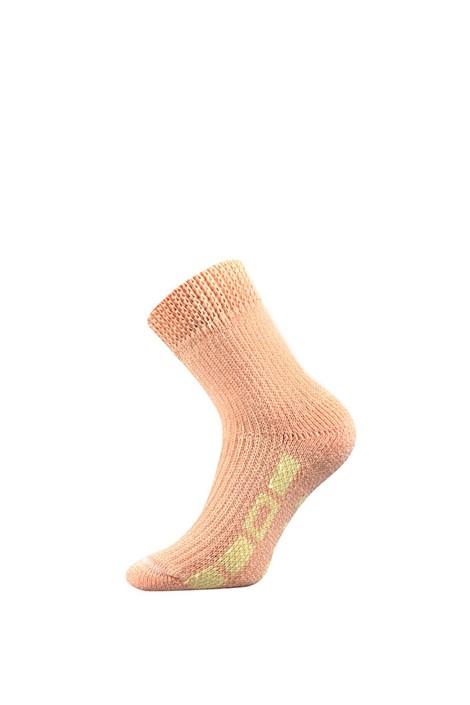 Boma Hřejivé ponožky na spaní meruňková 35-38