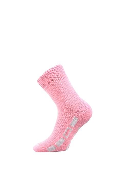 Boma Hřejivé ponožky na spaní růžová 39-42