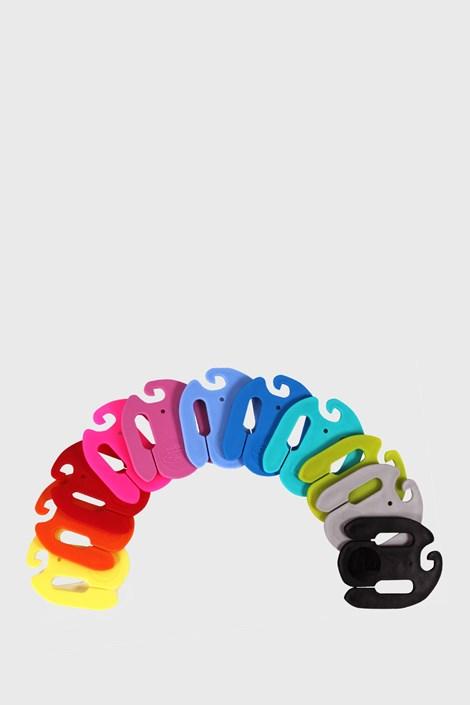 Lonka Barevné spony na párování ponožek barevná uni