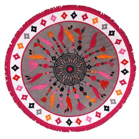 Le Comptoir De La Plage Plážová deka 2v1 Suncatcher barevna 150