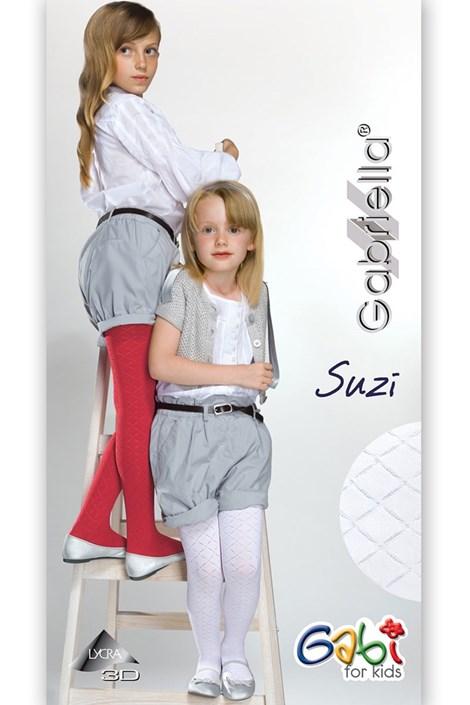 Gabriella Dívčí punčochové kalhoty Suzi bianco 150-158