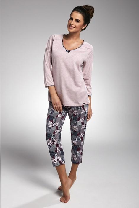 Cornette Dámské pyžamo Suzie růžová XL