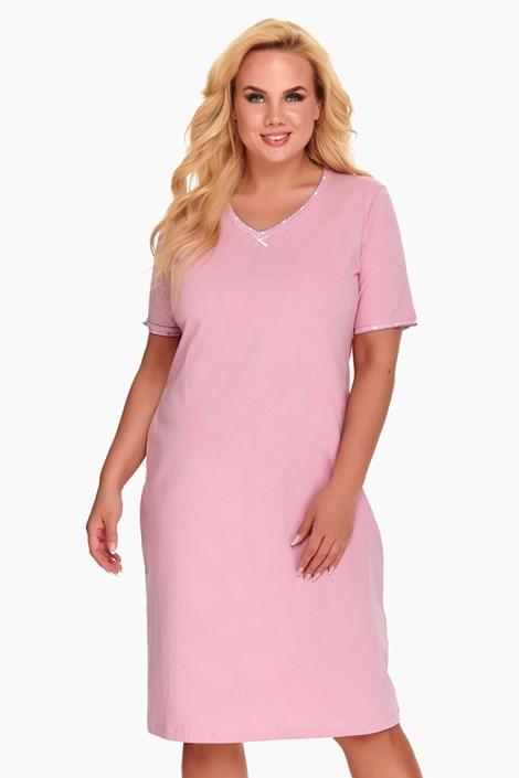 Doctor Nap Dámská noční košile Dorine růžová růžová XXXL