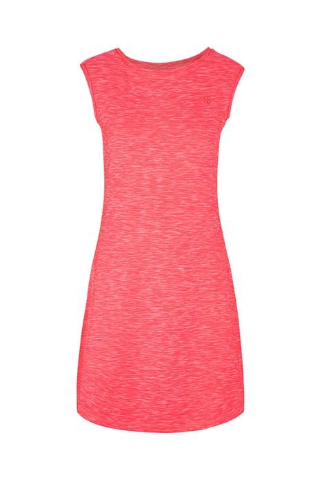 Dámské růžové sportovní šaty LOAP Mamba