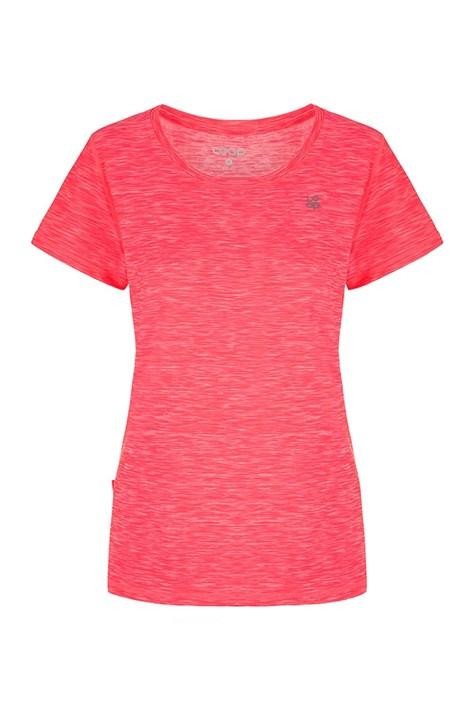 LOAP Dámské růžové tričko LOAP Madam růžová XL