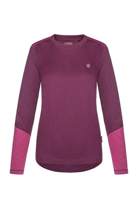 Dámské fialové funkční tričko LOAP Peony