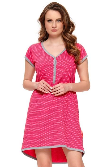 Doctor Nap Mateřská kojicí košilka Hayley růžová XL
