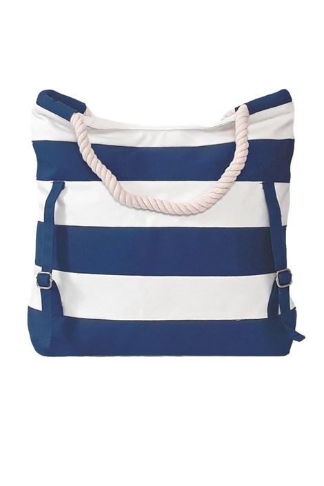 Noidinotte Velká plážová taška TR215 Blue modrobílá uni