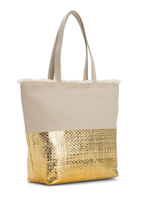 Noidinotte Plážová taška Gold zlatá uni