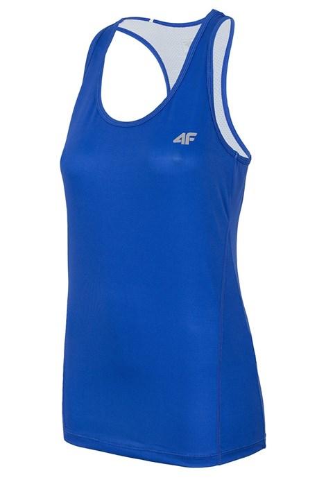 4F Dámské sportovní tílko Dry Control Blue modrá XS