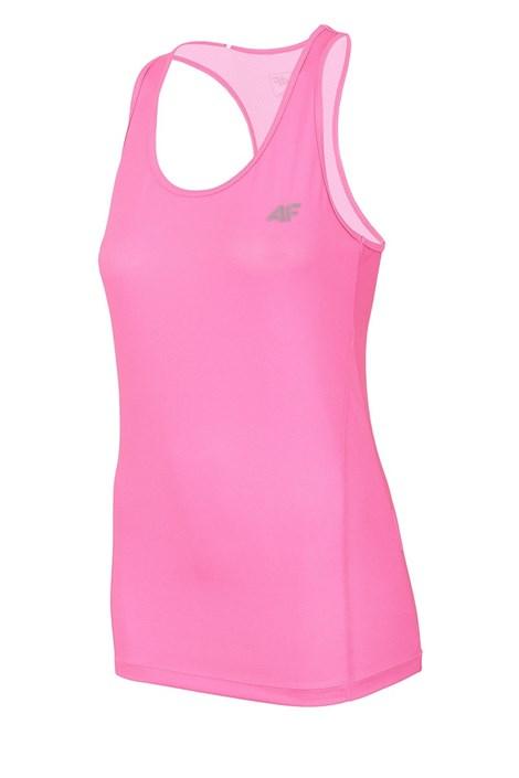 4F Dámské sportovní tílko Dry Control 4f Pink růžová XL