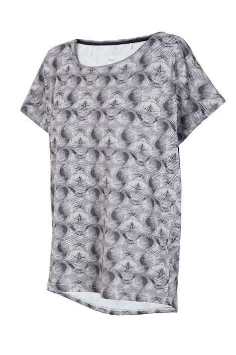4F Dámské sportovní tričko Fitness černobílá M