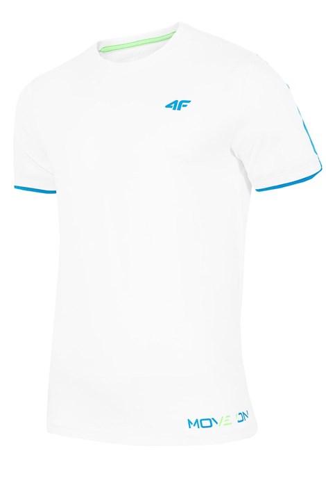 4F Pánské tričko 4F Move 100% bavlna bílá XXL