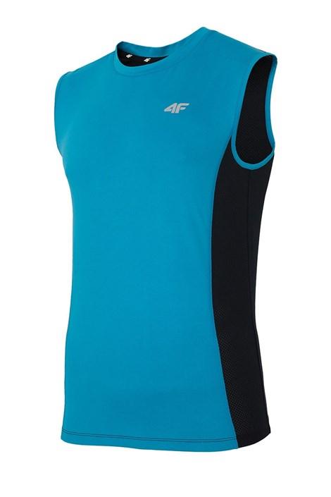 4F Pánské sportovní tričko 4F Dry Control Blue modrá XXXL
