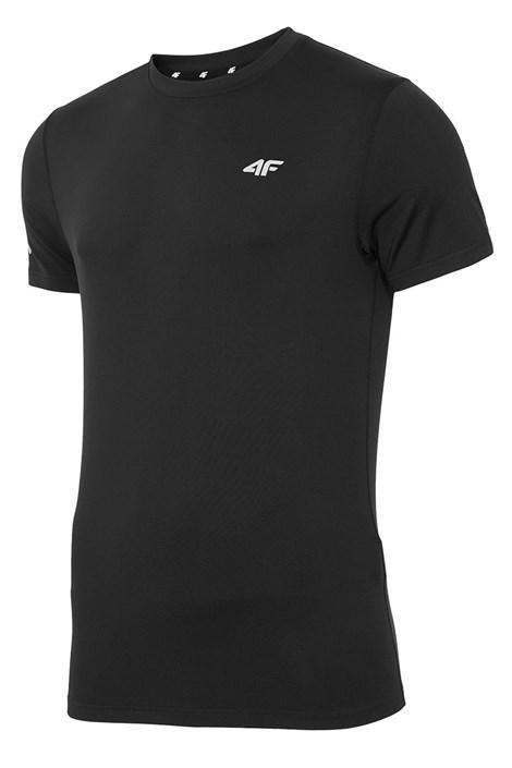 4F Pánské fitness tričko 4F Dry Control Black černá XXXL