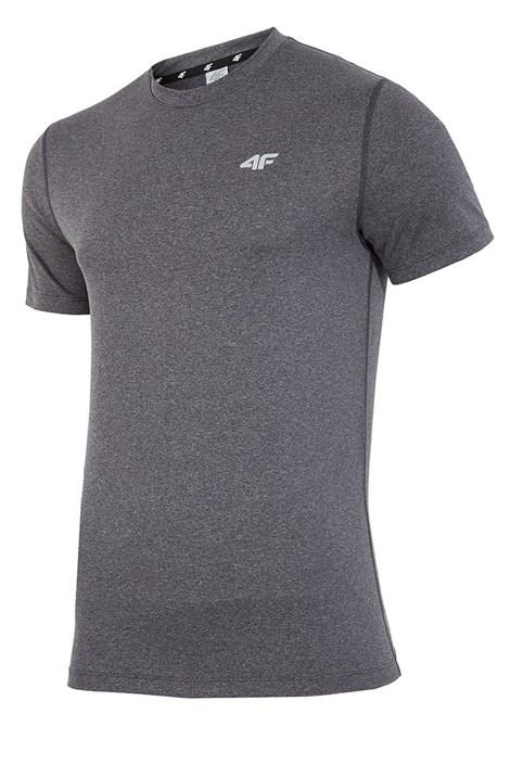 Pánské fitness tričko 4F Dry Control Melange