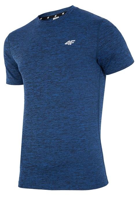 4F Pánské fitness tričko 4F Dry Control Navy modrá XXXL