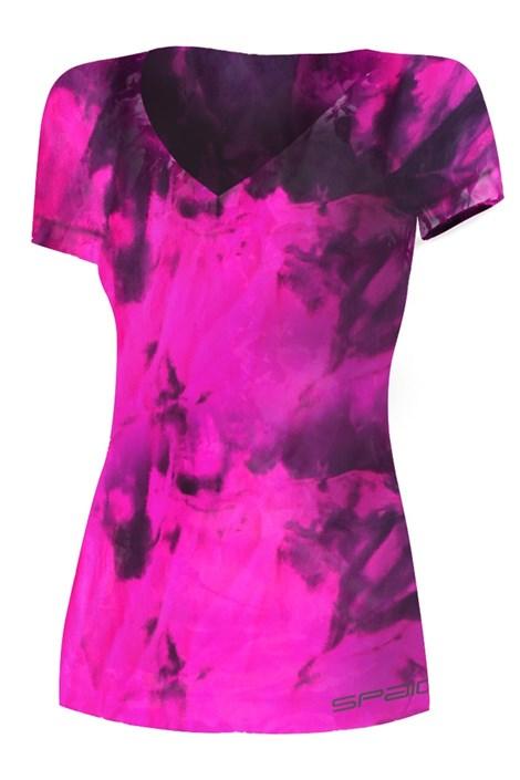 Spaio Dámské sportovní triko Fitness růžová S/M