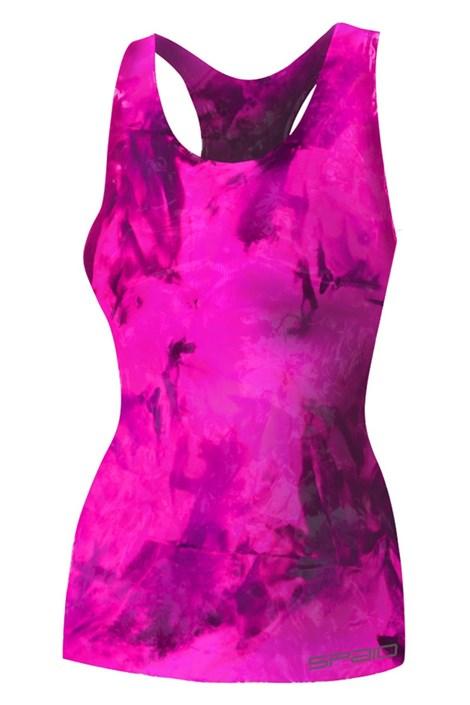 Spaio Dámské sportovní tílko Fitness růžová L/XL