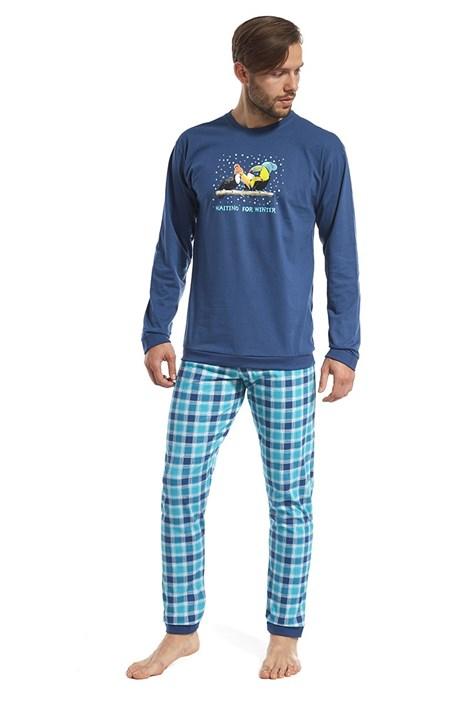 Cornette Pánské pyžamo Toucan modrá XL