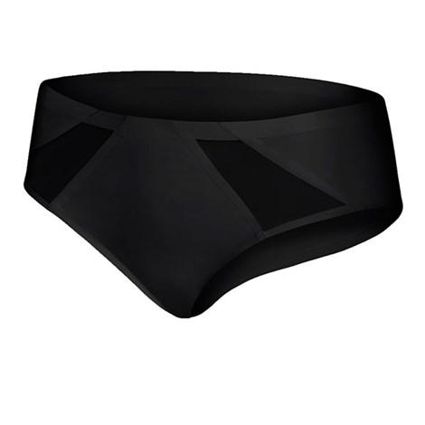 Julimex Kalhotky Tummie neviditelné černá L