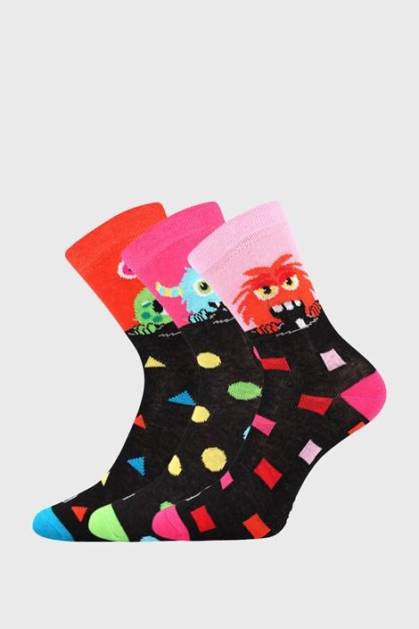 3 PACK dívčích ponožek Ufonek