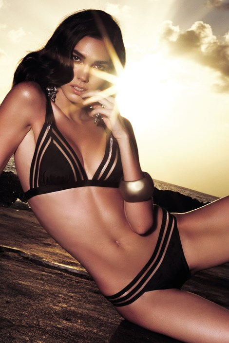 Vacanze Horní díl dámských luxusních plavek Annabelle černá S