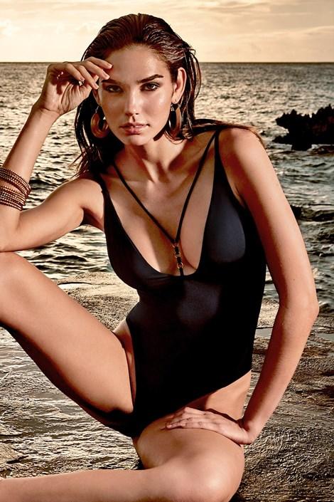 Vacanze Dámské jednodílné plavky Claudia černá L