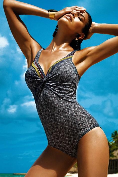 Vacanze Dámské jednodílné plavky Diana barevná 38-C
