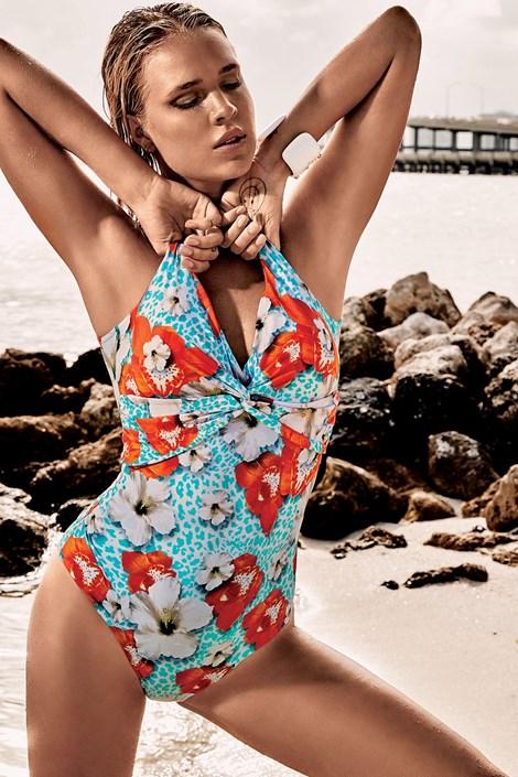 3b9290643d4 Dámské jednodílné plavky Vacanze Luxury bez kostic. ‹ ›