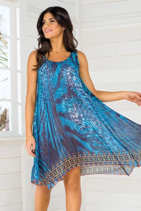 Vacanze Dámské plážové šaty Vacanze Be Wild barevná S