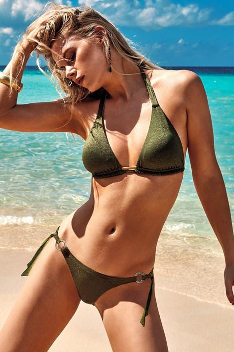 Vacanze Dámské dvoudílné plavky Samanta zelená 40