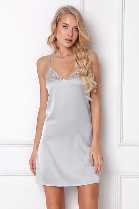 Aruelle Luxusní noční košilka Veronica šedá XS
